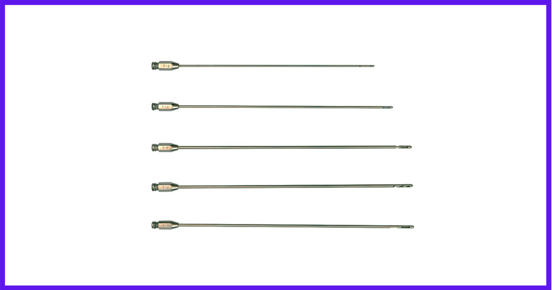 Liposuction Instruments and Cannulas